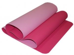 Коврик для йоги перфорированный 1800х600х0.5 мм. розовый