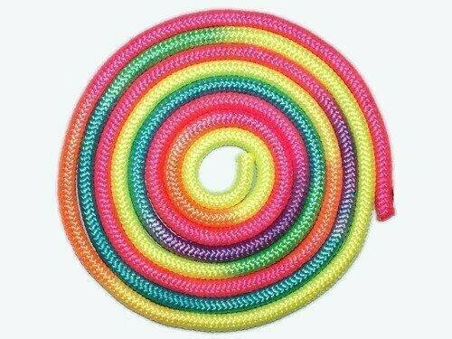 Скакалка для художественной гимнастики 3 метра радуга