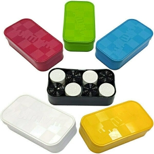 Игра «Шашки» желтая коробка