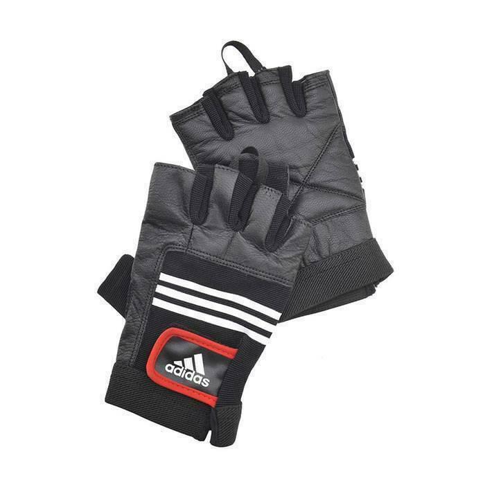 Перчатки тяжелоатлетические (кожа) Adidas