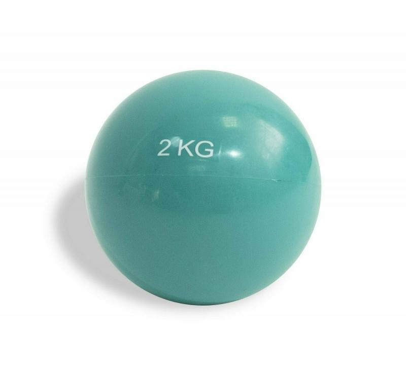 Мяч для пилатес 14 см 2 кг IRONMASTER IR97414-2