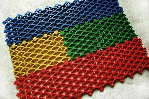 Покрытие модульное ячейка «чешуя» эластичный полимер