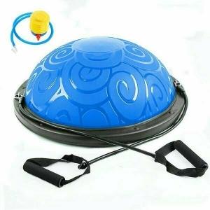 Полусфера гимнастическая BOSU Classic V3 58 см. синяя