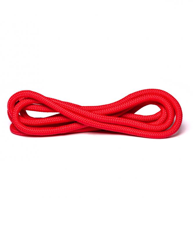 Скакалка для художественной гимнастики RGJ-401, 3м, красный, Amely