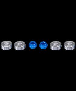 Набор подшипников ABEC-7, 4 шт., XAOS