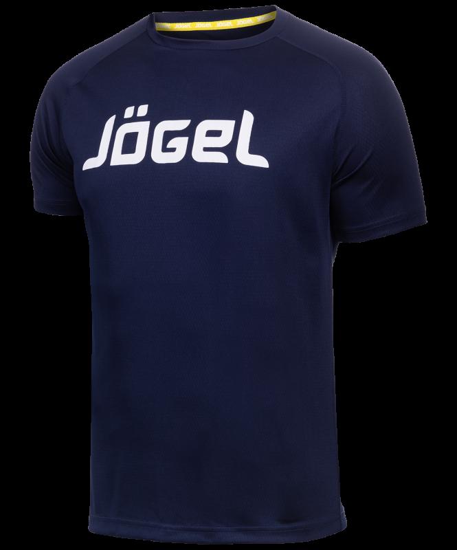 Футболка тренировочная JTT-1041-097, полиэстер, темно-синий/белый, детская, Jögel