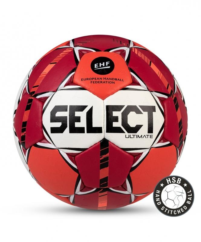 Мяч гандбольный ULTIMATE IHF №3,  крас/оранж/бел/чер, Select