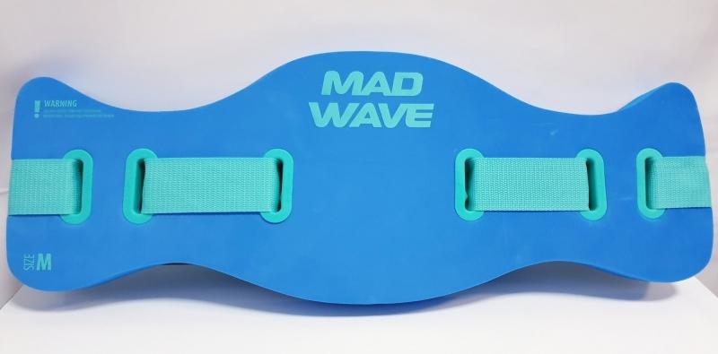 Пояс для плавания AQUABELT Mad Wave синий