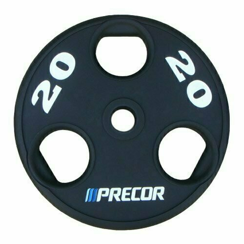 Олимпийский диск в уретане с логотипом Precor FM\UPP вес 20 кг.