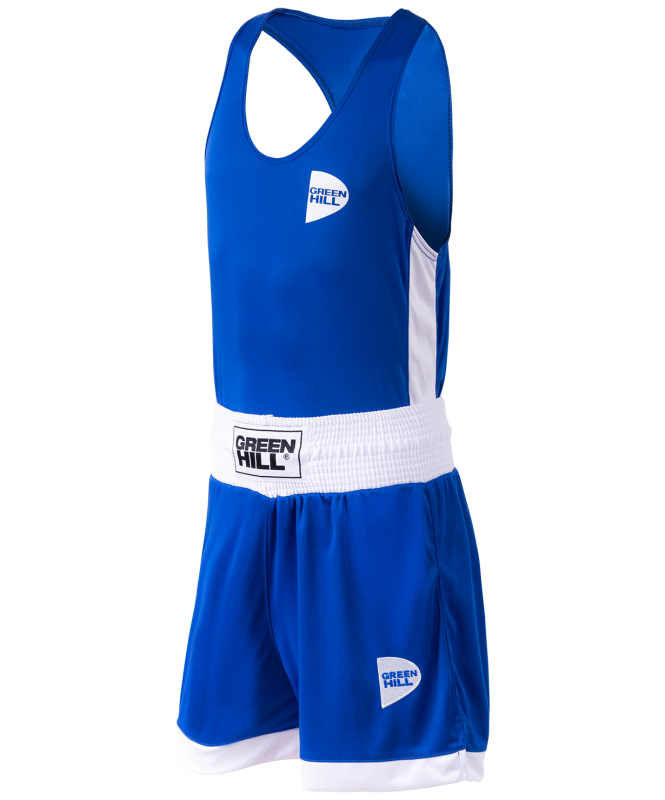 Форма боксерская Interlock BSI-3805, синий, Green Hill