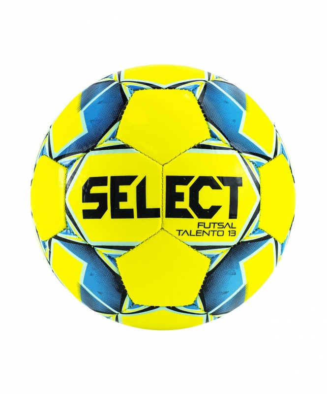 Мяч футзальный Futsal Talento 13 №3, жел/син/гол/чер, Select