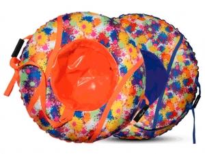 Санки ватрушка клякса, диаметр 95 см