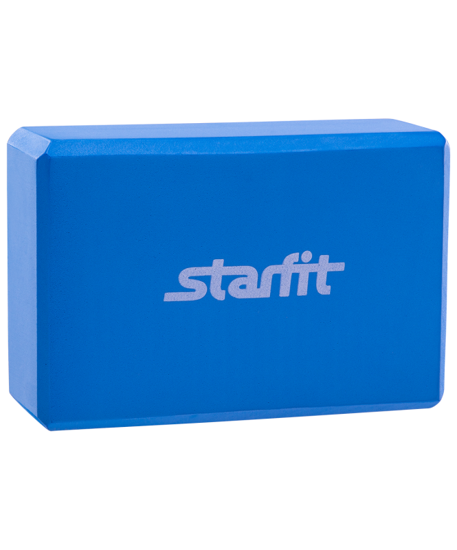 Блок для йоги FA-101 EVA синий, Starfit