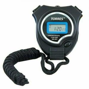 Секундомер TORRES Stopwatch , арт.SW-001, часы, будильник, дата, черно-синий
