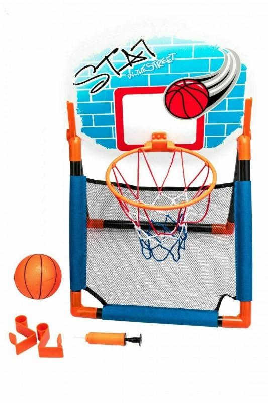 Баскетбольный щит 2 в 1 с креплением на дверь BRADEX DE 0367