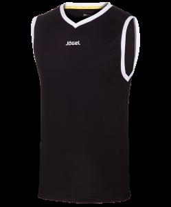 Майка баскетбольная JBT-1020-061, черный/белый, детская, Jögel
