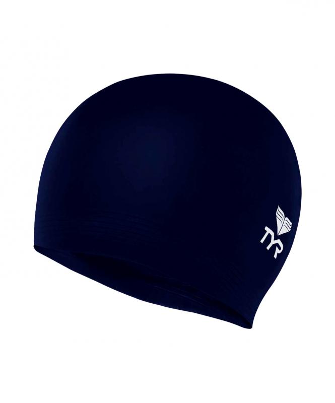 Шапочка для плавания Latex Swim Cap, латекс, LCL/401, синий, TYR
