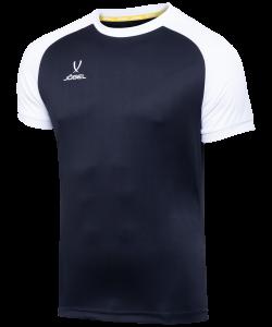 Футболка футбольная JFT-1021-061-K, черный/белый, детская, Jögel