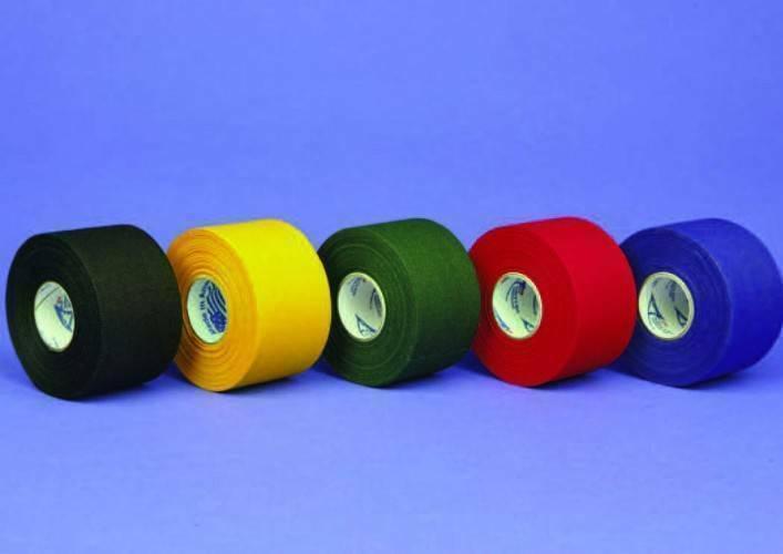 Цветные базовые спортивные тейпы Jaybird 20C Athletic 3,8 см х 13,7 м