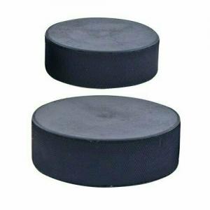 Шайба хоккейная малая, арт.MR-XS60, диам. 60 мм, выс. 20 мм, вес 90 гр, РОССИЯ, черная MADE IN RUSSIA