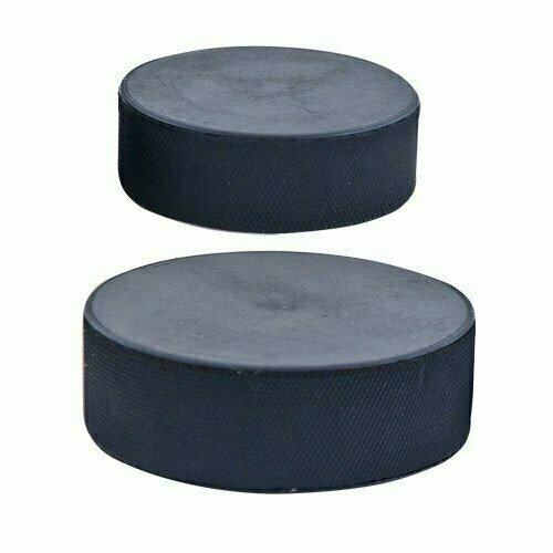 Шайба хоккейная официальный стандарт , арт.MR-XS75, диам. 75 мм, выс. 25 мм, вес 170гр, РОССИЯ, черная MADE IN RUSSIA