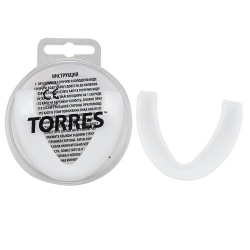 Капа TORRES арт. PRL1023WT, термопластичная, евростандарт CE approved, белый