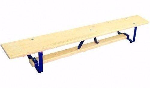 Скамейка гимнастическая клееное дерево (р-р 4000х230х300), металлические ножки