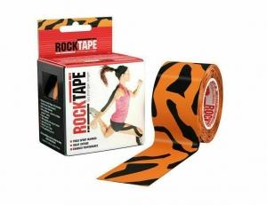 Кинезиотейп Rocktape Design, 5см х 5м, тигр