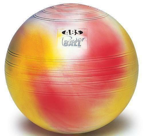 Мяч гимнастический TOGU ABS Powerball цветной