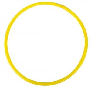 Обруч гимнастический пластиковый 60 см. (желтый)