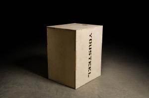 Кроссфит тумба Yousteel деревянная 50-60-75 для запрыгивания