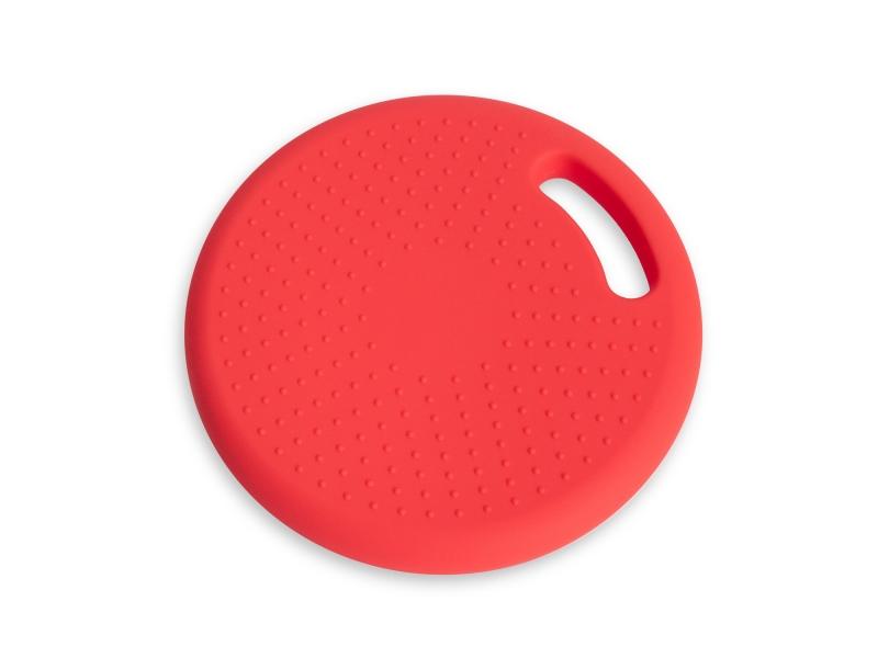 Массажно-балансировочная подушка с ручкой красная Original FitTools FT-BPDHL (RED)