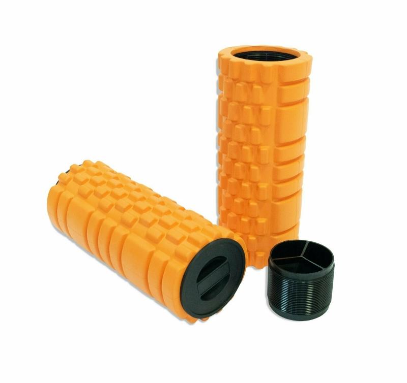 Цилиндр массажный 66х14 см оранжевый IRONMASTER IR97435D