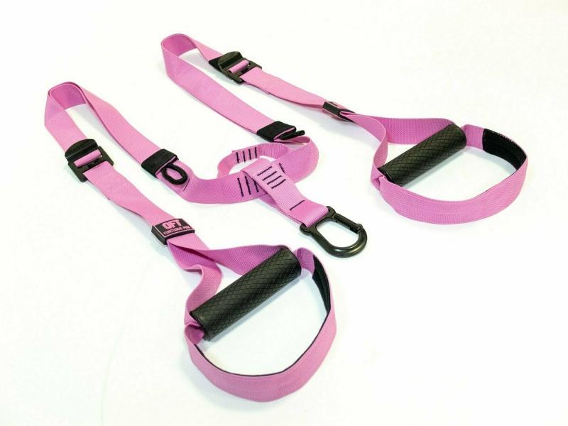 Набор петель для функционального тренинга профессиональный PINK UNICORN Original FitTools FT-TSG-PINK