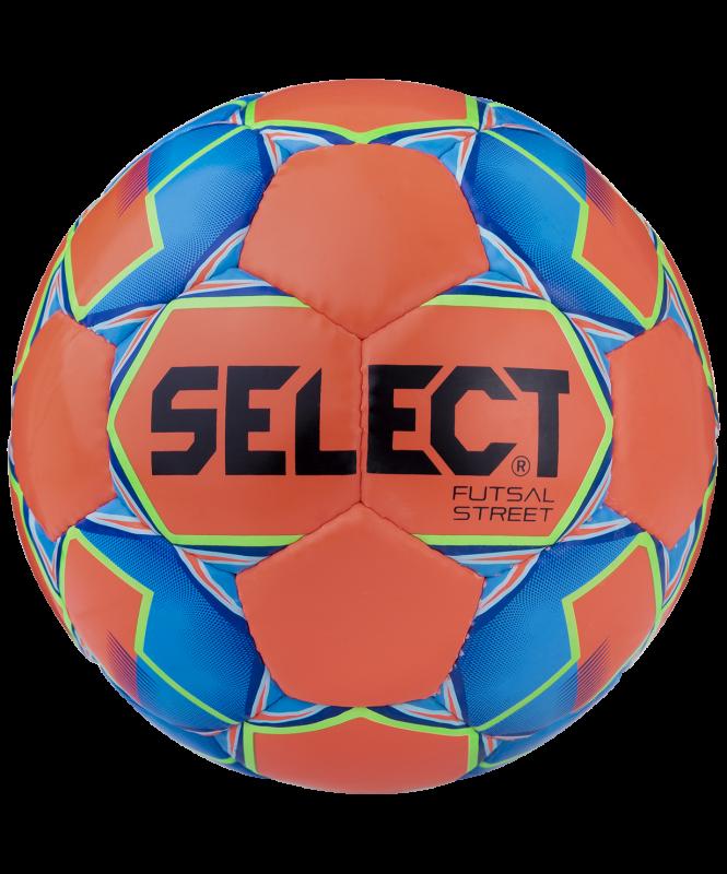 Мяч футзальный Futsal Street 13 850218, №4, красный/синий/зеленый, Select