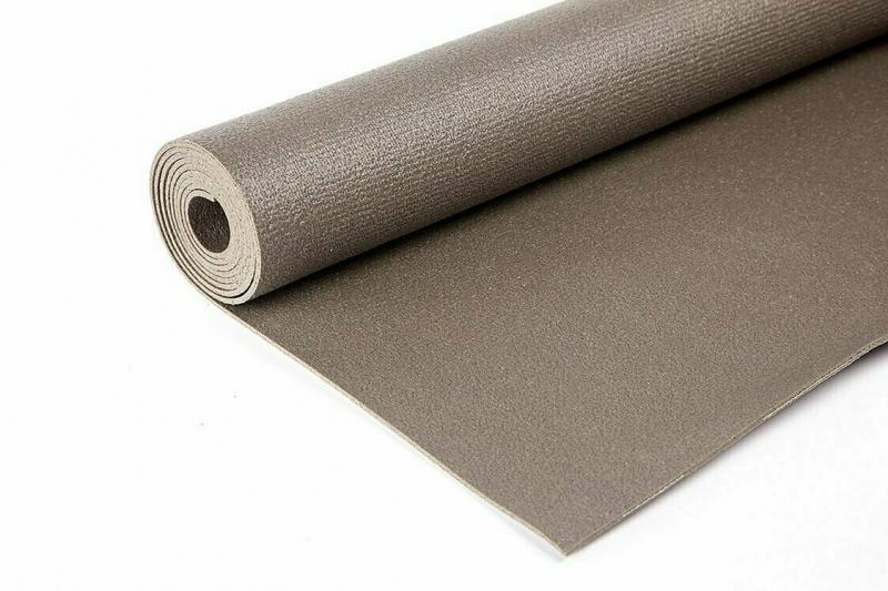 Коврик для йоги Yin-Yang Studio RamaYoga серый, 220x60x0.3 см, 1.5 кг
