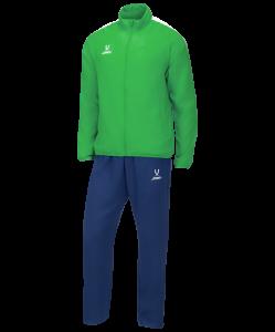 Костюм спортивный CAMP Lined Suit, зеленый/темно-синий, детский, Jögel
