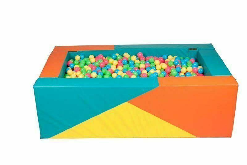 Сухой бассейн прямоугольный (200х120х60х20)