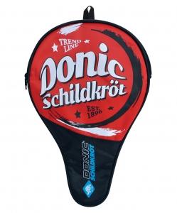 Чехол для ракетки Trend Cover с карманом, красный, DONIC