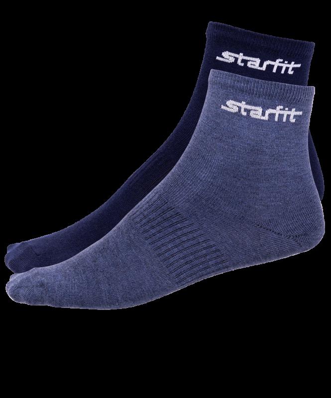 Носки средние SW-206, темно-синий/синий меланж, 2 пары, Starfit