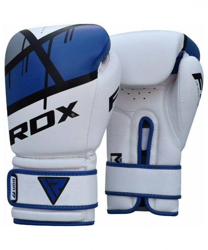 Перчатки боксерские BGR-F7 BLUE BGR-F7U, 12 oz, RDX
