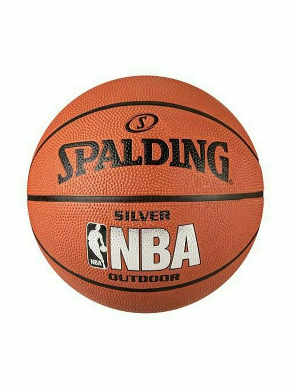 Мяч Spalding NBA Silver р.6 улица/зал резина