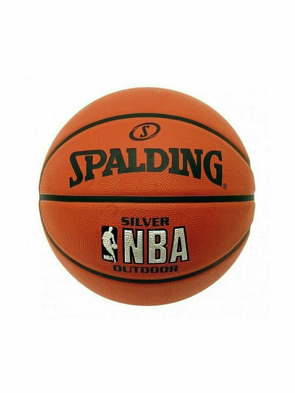 Мяч Spalding NBA Silver улица/зал резина