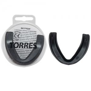 Капа TORRES арт. PRL1023BK, термопластичная, евростандарт CE approved, черный