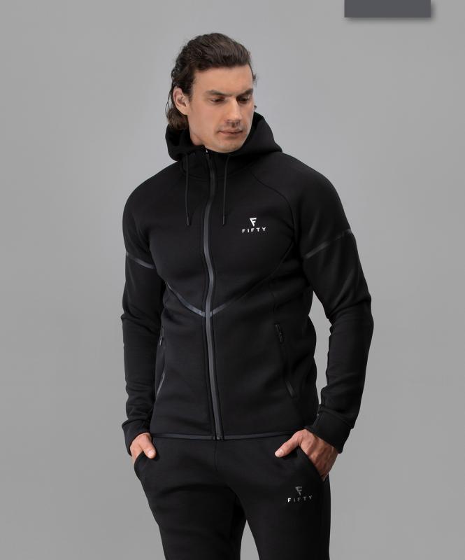 Мужская спортивная толстовка Intense PRO FA-MJ-0102, черный, FIFTY