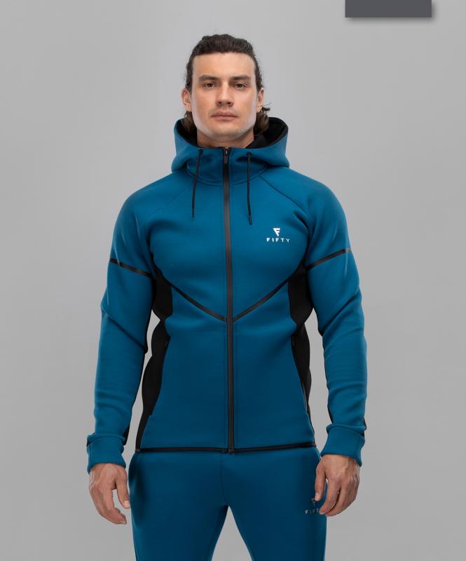 Мужская спортивная толстовка Intense PRO FA-MJ-0102, синий/черный, FIFTY