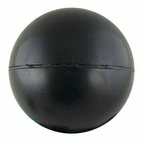 Мяч для метания, арт.MR-MM, резина, диам. 6 см, вес 150 г, ЧЕРНЫЙ MADE IN RUSSIA