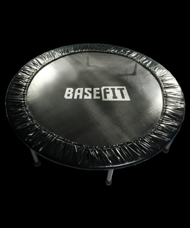 Батут TR-101 137 см, черный, BaseFit