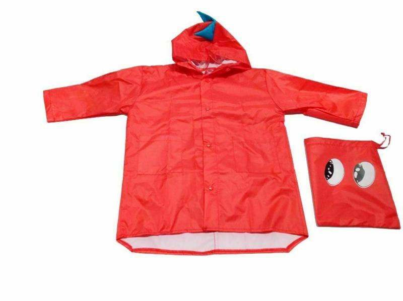 Дождевик «ДРАКОН» красный, размер М BRADEX DE 0488