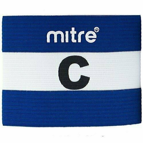Капитанская повязка MITRE арт. A4029ABP8, 100% спандекс, безразмерная, сине-белый